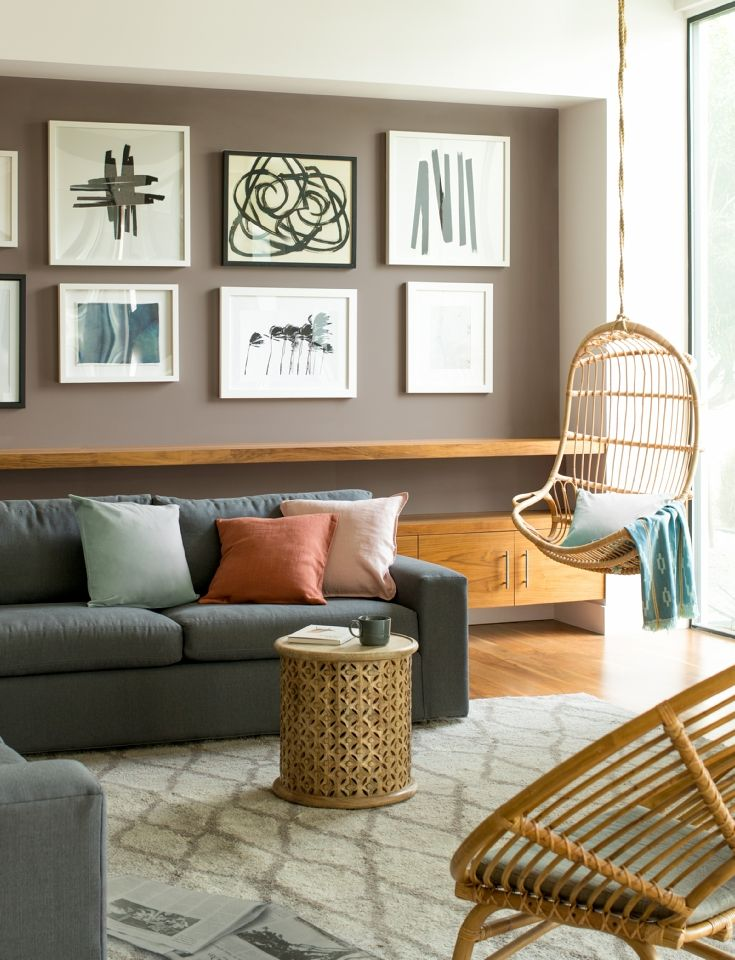 Living Room Color Ideas Inspiration Benjamin Moore Modern Living Room Paint Brown Living Room Decor Living Room Color Schemes