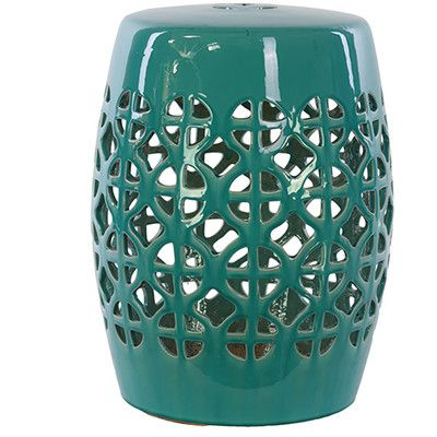 Urban Trends Ceramic Garden Stool | Wayfair