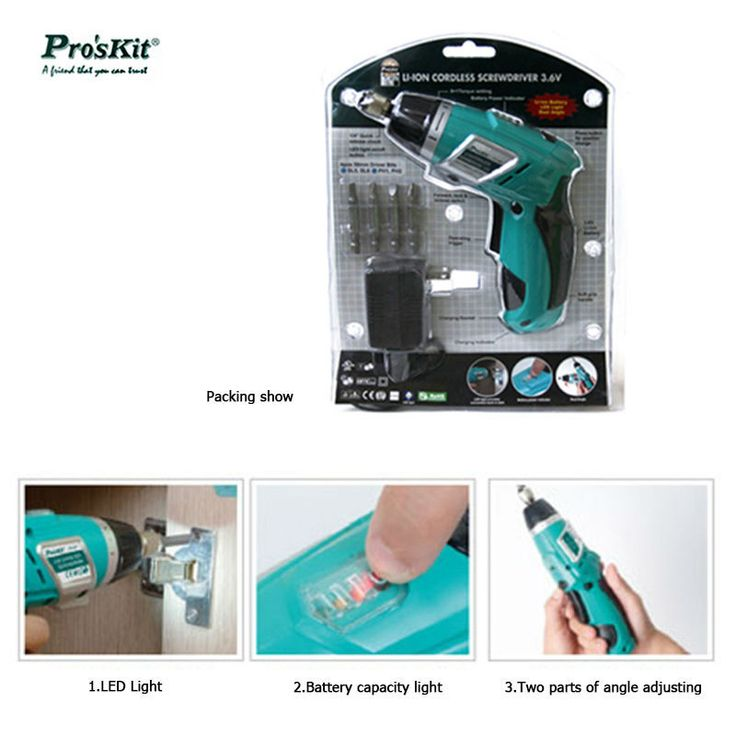 PT-1361G Lithium Rechargeable Drill Rechargeable Electric Screwdriver