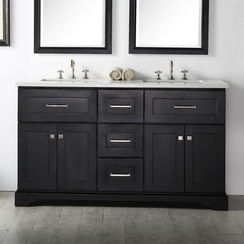 Legion Furniture 60 Double Vanity Set