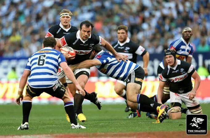 Get od the track, the freight train is coming - Bismarck du Plessis