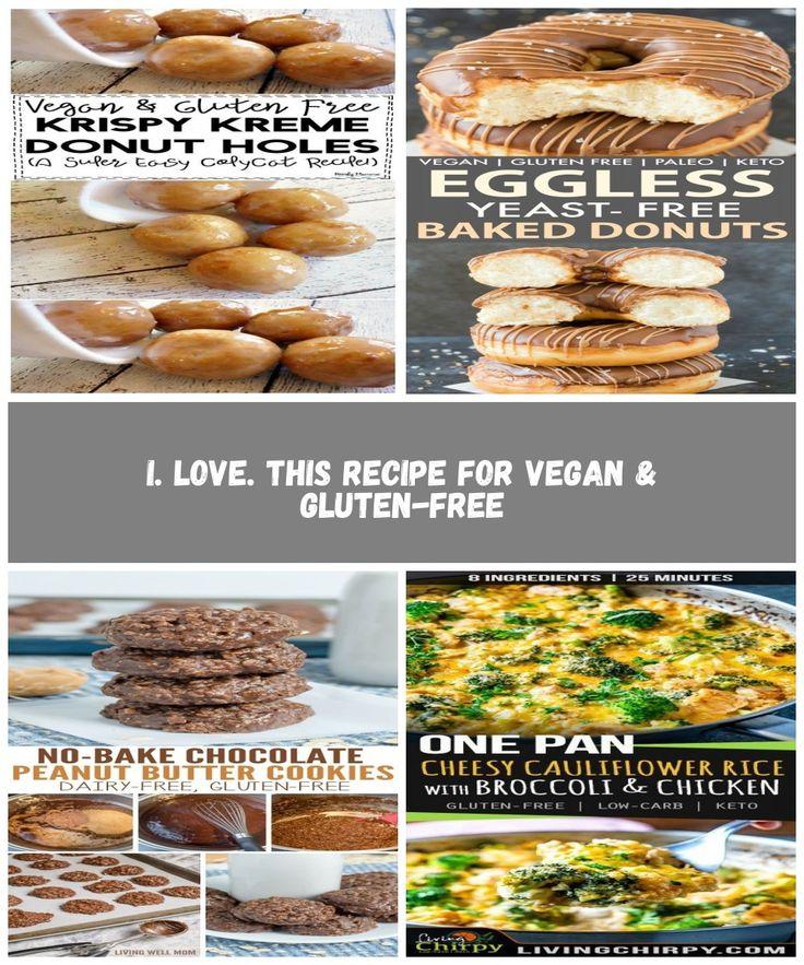 I. LOVE. This recipe for Vegan & GlutenFree Krispie Kreme
