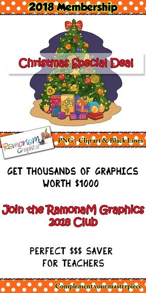 12 months worth of teacher clip art for 1 very low price. HUGE saving on purchases made by the end of Dec 31st! Members contribute with what sets go in the pack :)