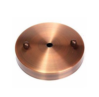 Stačí si jednoducho vybrať okrúhly stropný držiak na svietidlo, k nemu doplniťvodičový kábel,objímkua dokončiť svietidlodekoračnou žiarovkou
