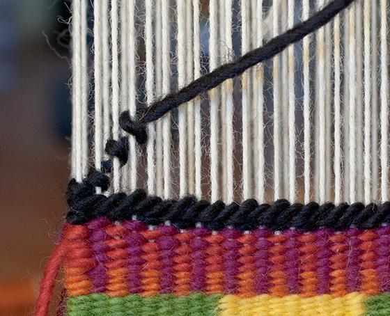 soumak knots