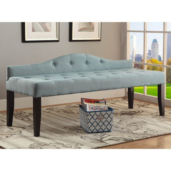 8 best Upholstered Accent Benches images on Pinterest