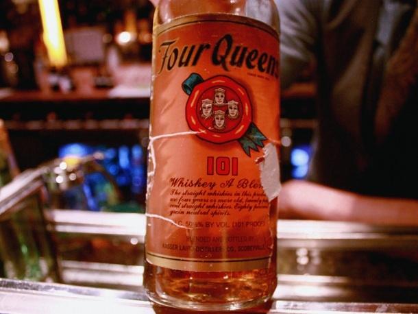 Four Queens Blended Whiskey Booze Pinterest Whiskey