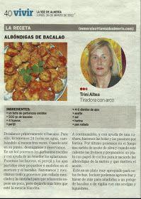 La Voz de Almería 26 de Marzo 2012