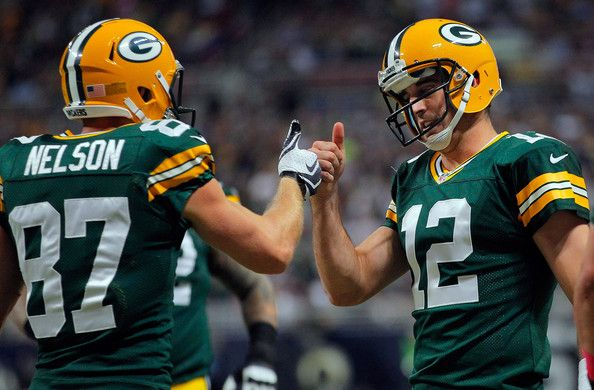 Aaron Rodgers and Jordy Nelson Photo   These are my boys