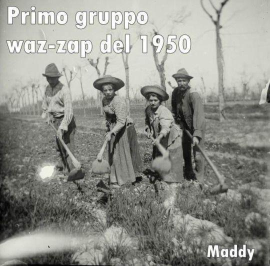 Il primo gruppo waz zap