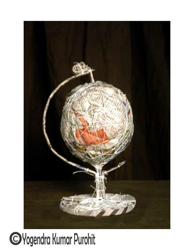 Paper Sculpture -41 , cost - 10,000 /- Rupees
