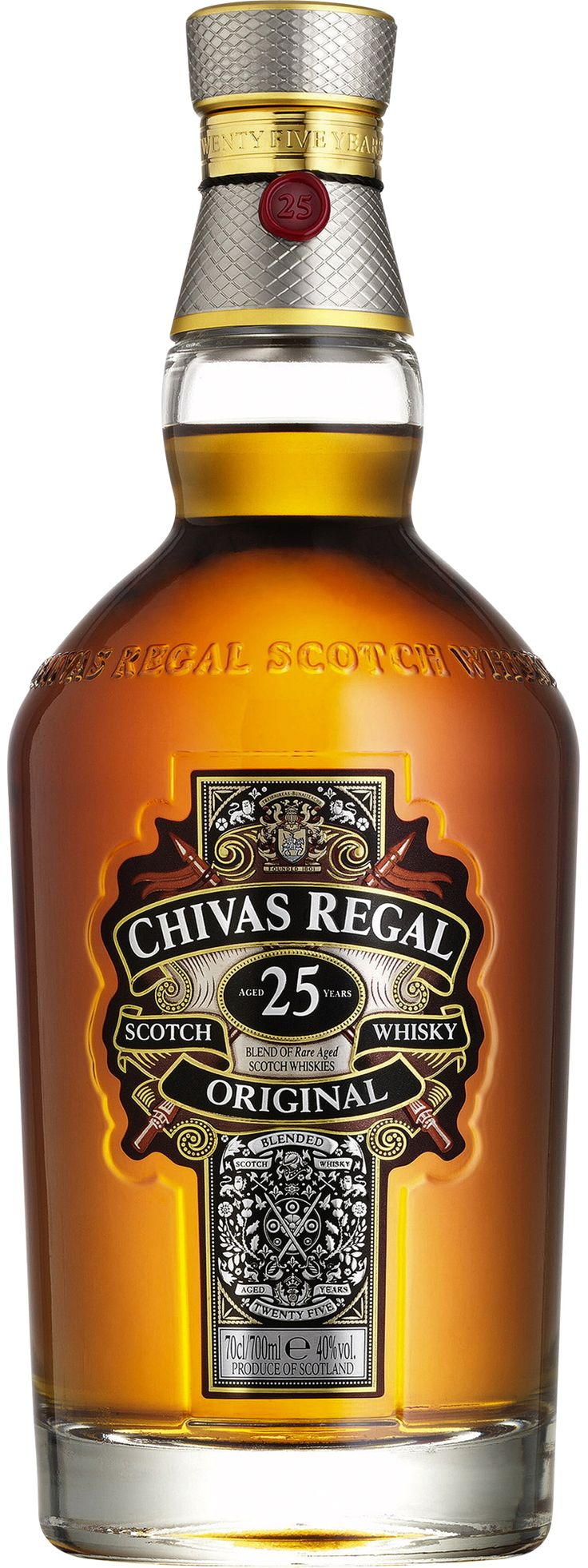 Chivas Regal Whisky Chivas Regal 12 Year Old Blended Scotch Whisky