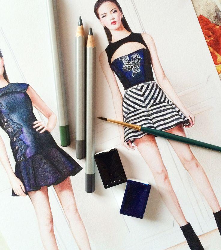 Fashion illustration Doll Memories