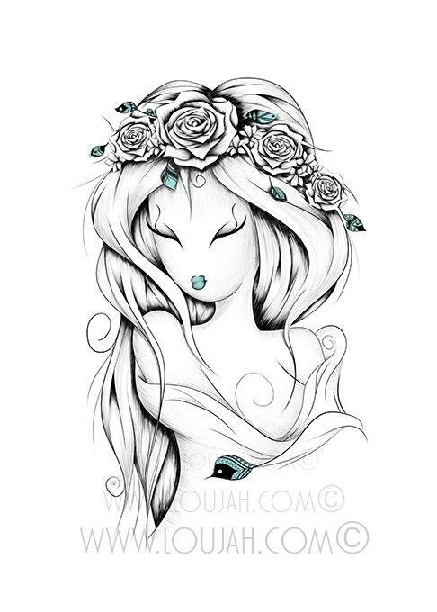LouJah #art #illustration #draw #drawing #doodle #stretch #boho #bohostyle…