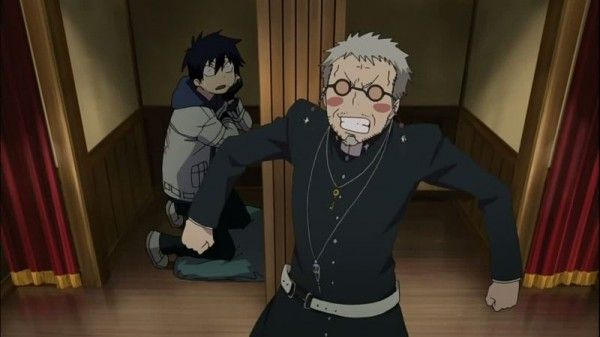 Shiro & Rin~~Blue Exorcist episode 1