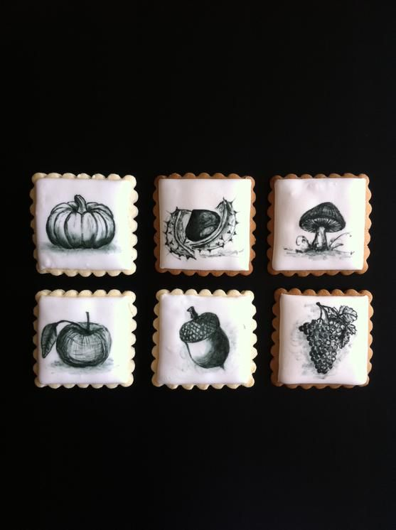 Black and white autumn collection http://cookieconnection.juliausher.com/