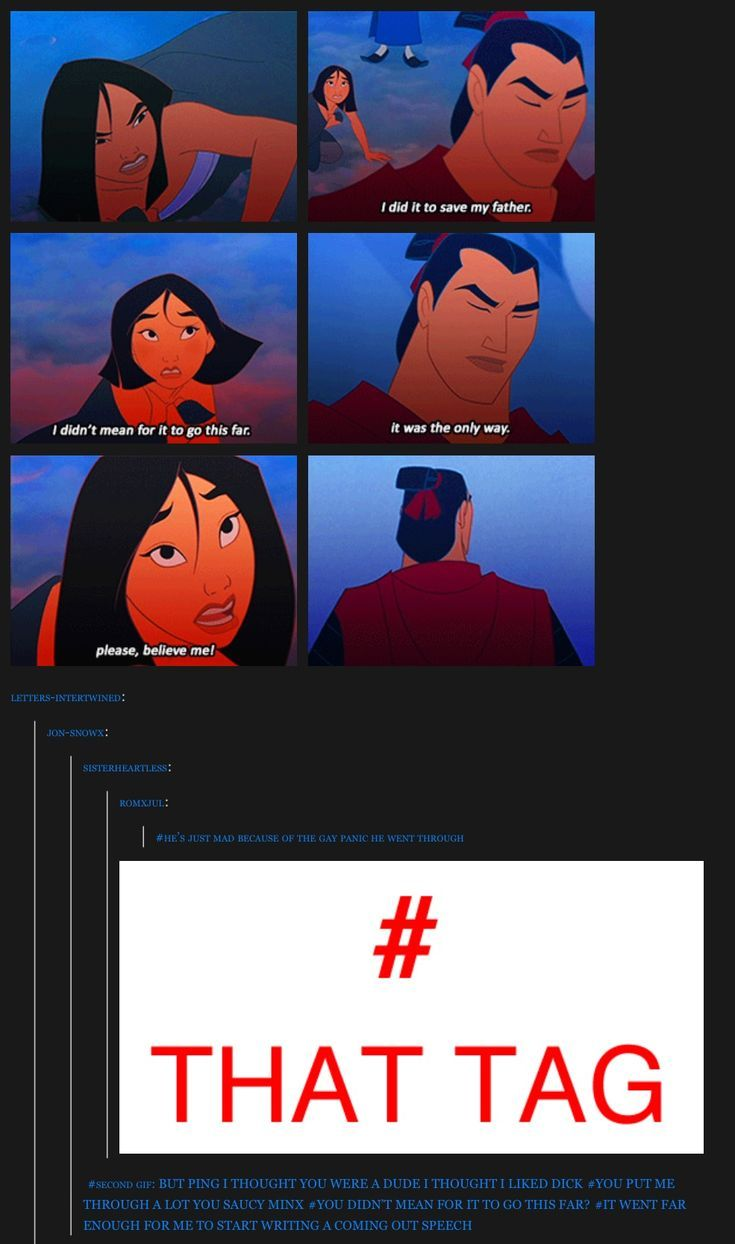 """ping triggered shang's sexuality crisis — lol """"it went far enough for  me to start writing a coming out … 