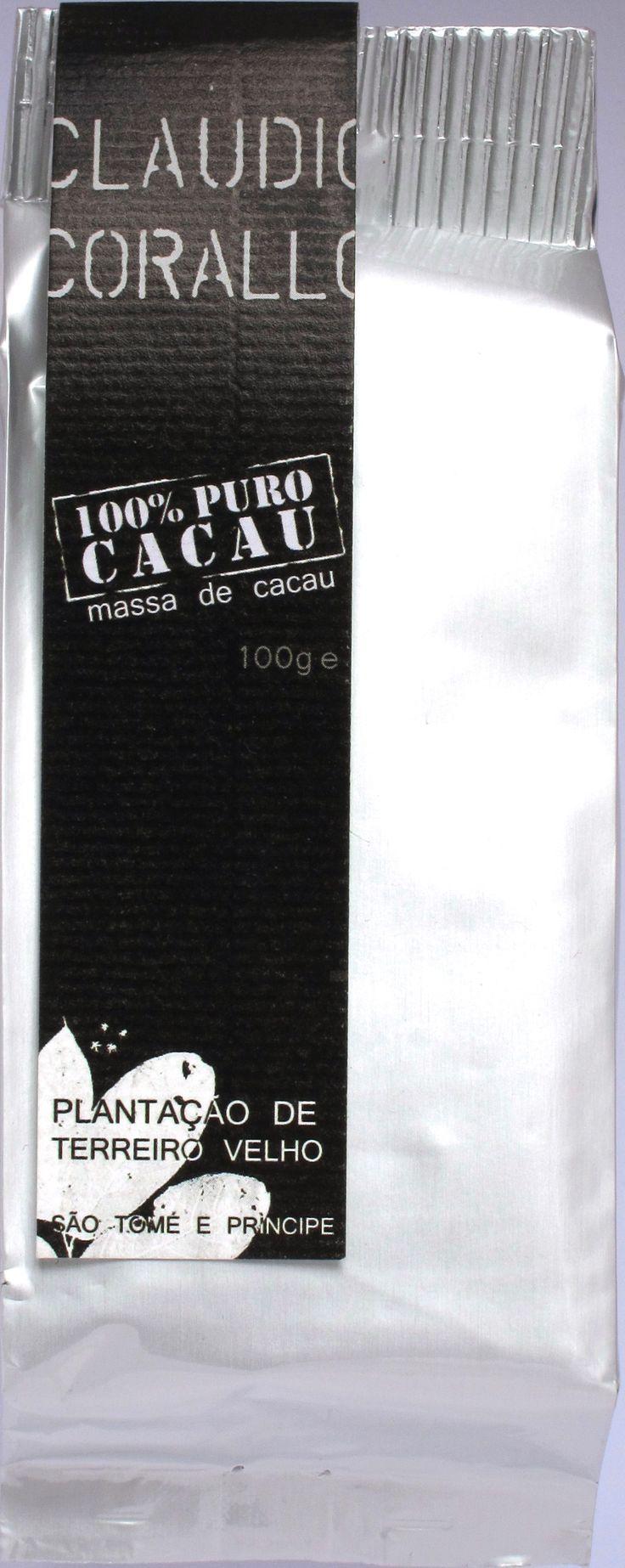 Claudio Corallo 100% Kakaomasse