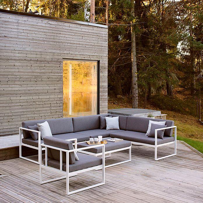 48++ Garten lounge weiss aluminium ideen