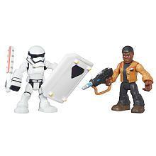 Playskool Heroes Galactic Heroes Star Wars Resistance Finn (Jakku)  First Order Stormtrooper