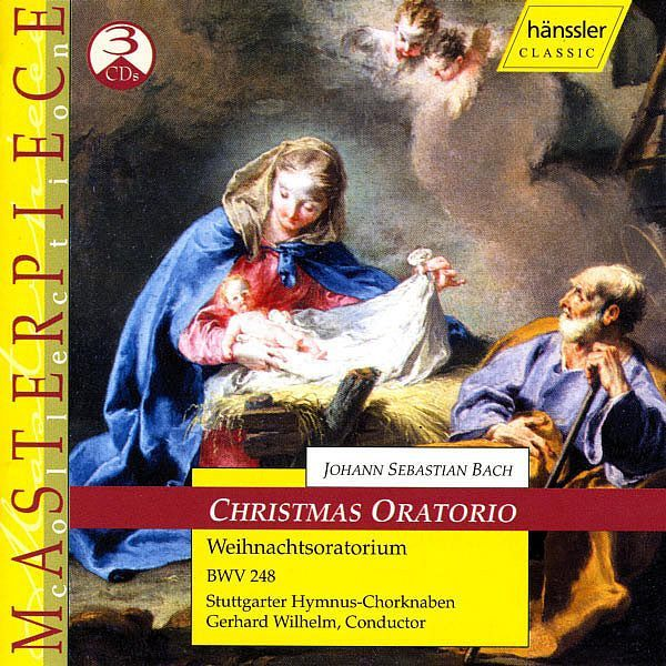 BACH, J.S.: Christmas Oratorio, BWV 248-Krisztina Laki-Haenssler Classics
