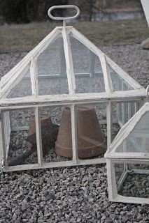 VINTAGE :: Glass Green House