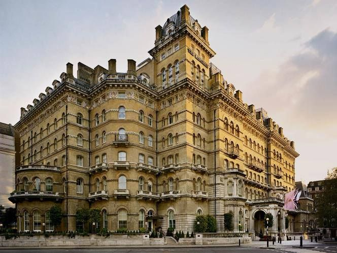 The Lanham, London opened in 1865 and was one of the first buildings to boast electric lights. England (UK)