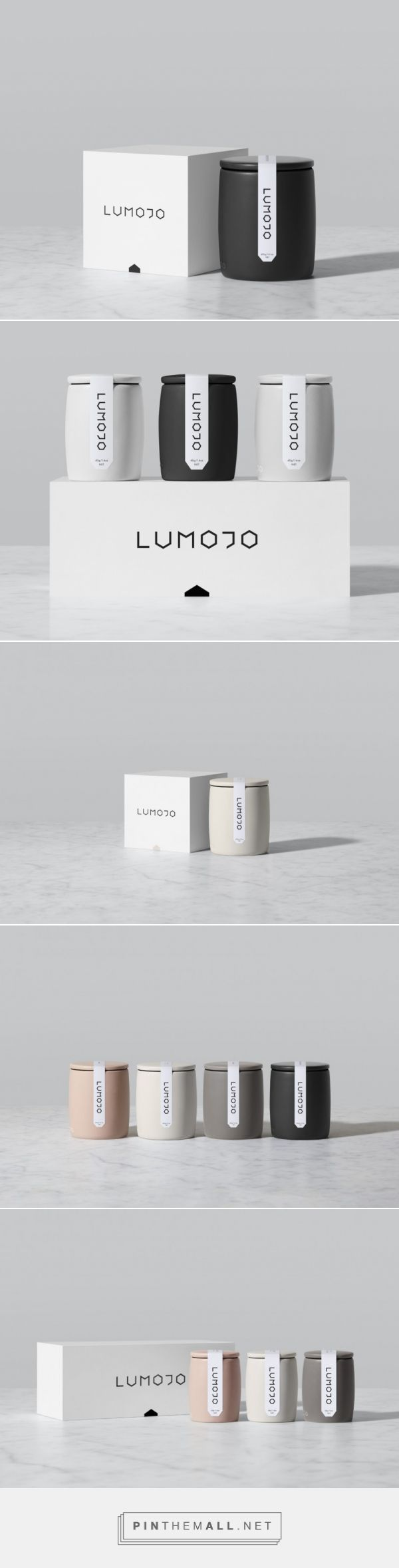 Lumojo Honey via Minimalissimo by Alt Group curated by Packaging Diva PD. each element has been thoroughly and thoughtfully considered, typography, precise labelling, and packaging details, are inspired by the hexagonal shape of the honey panels.