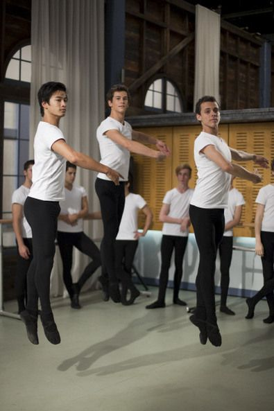Christian, Ben and Sammy!! Dance Academy