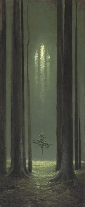 """Konstantin Vasiliev, """"Gótico Forestal"""""""