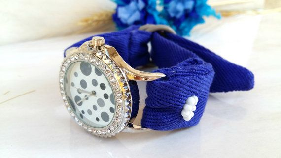 Unique Watch Woman  Cool Watch   Bead embroidered bracelet watch by HarmonyHourWatches