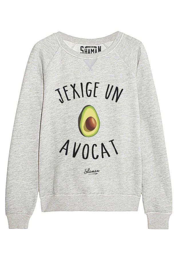 "Sweat ""Avocat"""