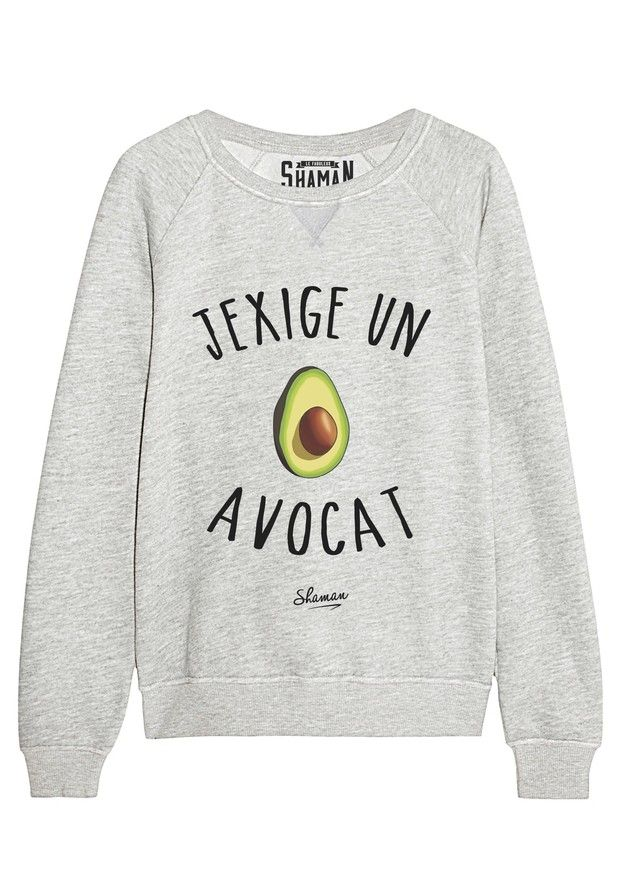 "Sweat ""Avocat"""