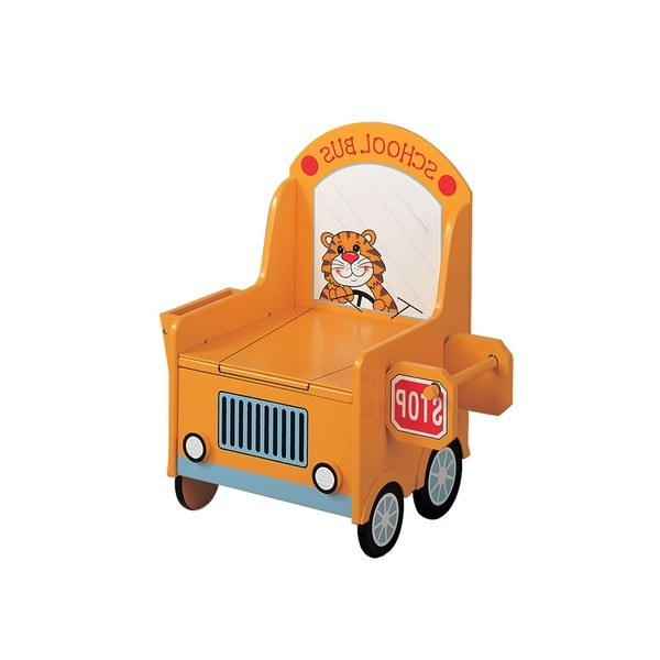 The School Bus Potty Chair for Girls or Boys