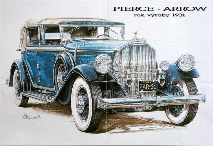 Пиърс 1931   Classic Европейския кола