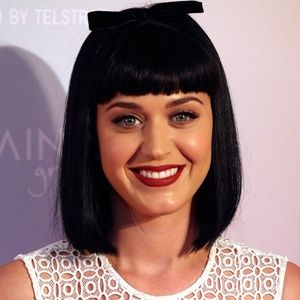 Jet Black Hair Short Bob Cute Short Blunt Bangs Katy