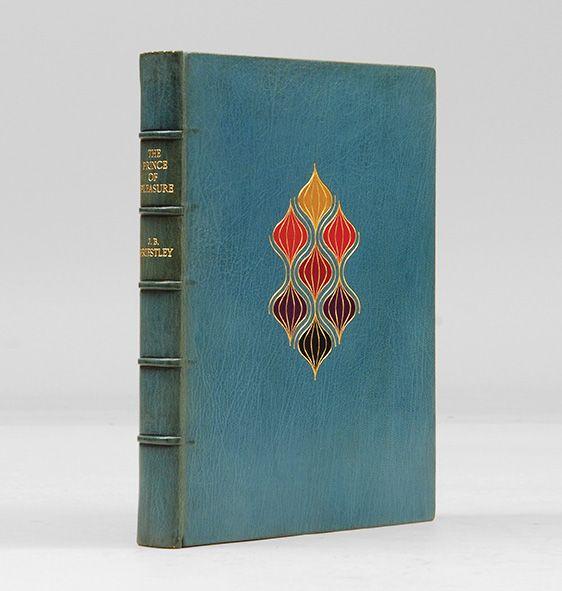 Joseph Zaehnsdorf blue full leather bookbinding