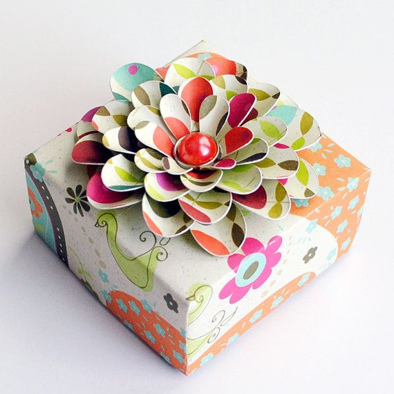Cake Box Decorating Ideas Mesmerizing 85 Best Origami Gift Box Images On Pinterest  Gift Boxes Wrap Design Ideas