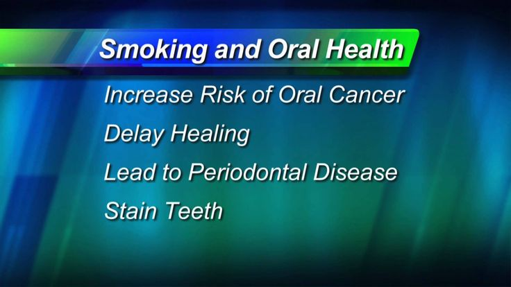 Learn more about what the American Dental Association has to say about quitting smoking.