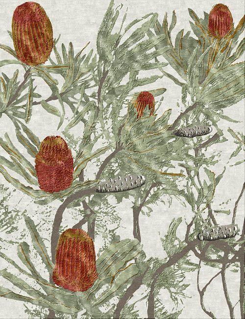 Banksia rug natural