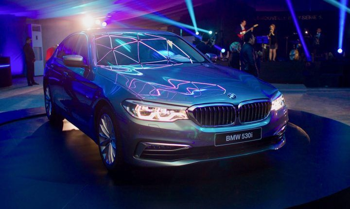 La nouvelle BMW SÉRIE 5 chez  BEN JEMÂA MOTORS