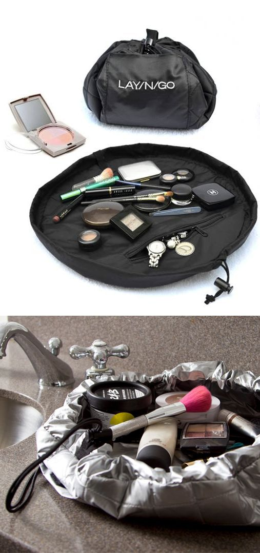 Lay-N-Go Lite // perfect cosmetics travel kit - I need this product! Brilliant!