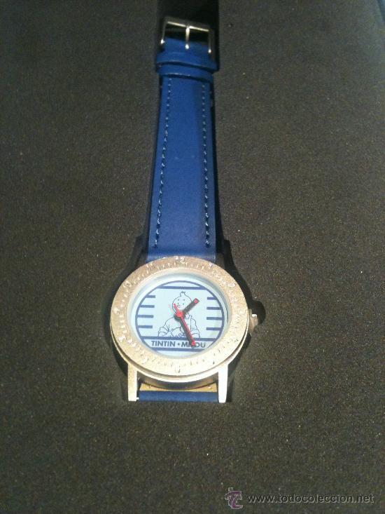 Reloj de Tintín y Milú Moulinsart / todocoleccion