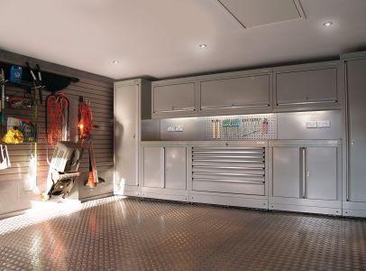 Modern Town House Garage - Dura Garages