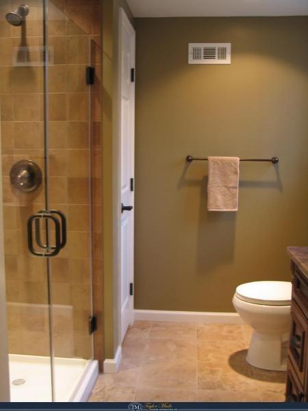 Elegant Rustic Design In One Bathroom Taylor Made Custom Contracting Inc