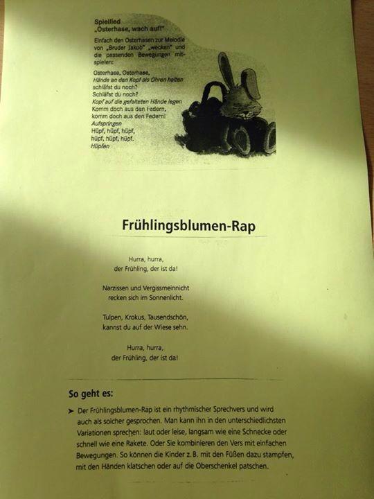 Lieder, Rap Ostern