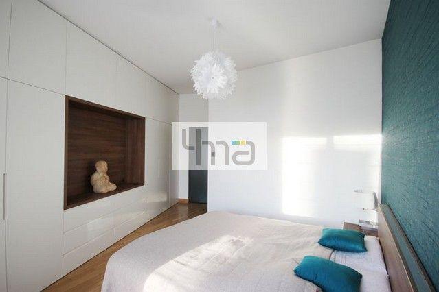 Mieszkanie w Wilanowie - 115 m2 - http://4ma-projekt.pl  sypialnia, bedroom, architektura wnętrz, interiors, architect, home, house, interior, architects, architecture