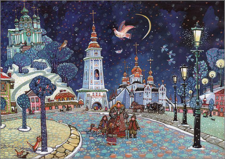 Evgeny Belousov. Tarasovo pero. Fairy Story About Childhood and Youth of Taras Shevchenko. ISBN 966-7551-88-1, 2004. Illustrator Oksana Heylik.