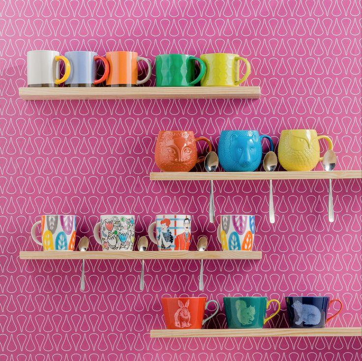 El Mug perfecto para disfrutes de tu café favorito está en Casaideas. Te esperamos con muchos diseños y colores para escoger.