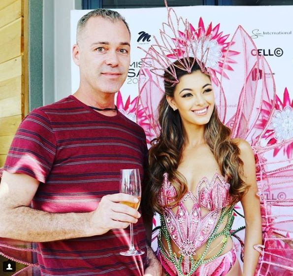 #MissUniverse Demi-Leigh-Nel Peters Miss South Africa MissUniverse Radio Today Johannesburg Food Travel JoziStyle Edward Chamberlain-Bell